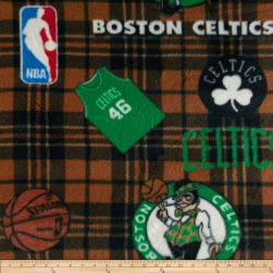 NBA Fleece Boston Celtics Green Fabric