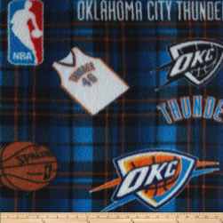 NBA Fleece Oklahoma City Thunder Multi Fabric