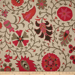 Lacefield Calypso Blend Hibiscus Fabric