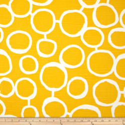 Premier Prints Freehand Slub Corn Yellow Fabric
