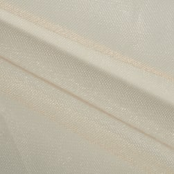 Shiny Tulle Beige Fabric