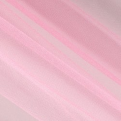 Shiny Tulle Pink Fabric