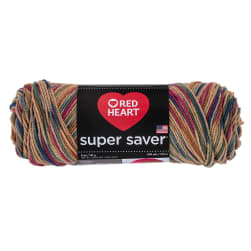 Red Heart Super Saver Yarn 0303 Painted Desert