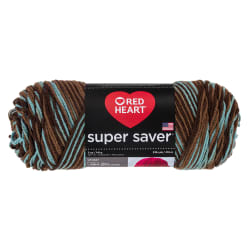 Red Heart Super Saver Yarn 928 Earth &