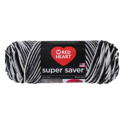 Red Heart Super Saver Yarn 932 Zebra