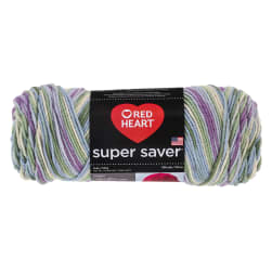 Red Heart Super Saver Yarn 318 Watercolor (m)