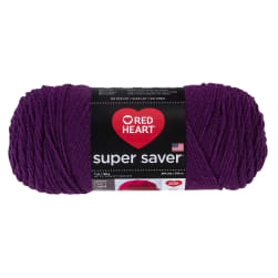 Red Heart Super Saver Yarn 776 Dark Orchid