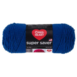 Red Heart Super Saver Yarn 385 Royal