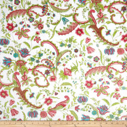 Minky Sweet Pea White Multi