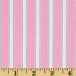 Susy Sunflower Signature Stripe Pink Fabric