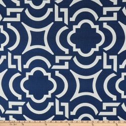 Richloom Solarium Outdoor Carmody Navy Fabric