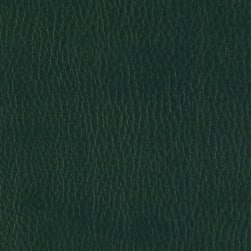 Flannel Backed Faux Leather Deluxe Dark Green Fabric