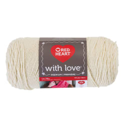 Red Heart Yarn With Love 1303 Aran