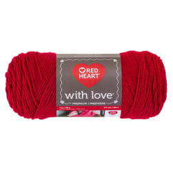 Red Heart Yarn With Love 1909 Holly Berry