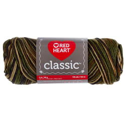 Red Heart Yarn Classic 971 Camouflage