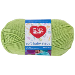 Red Heart Yarn Soft Baby Steps 9630 Lime