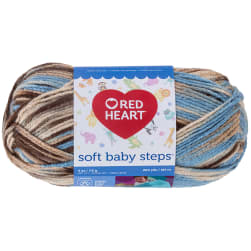 Red Heart Yarn Soft Baby Steps 9935 Blue Earth