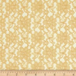 Raschel Lace Gold Fabric