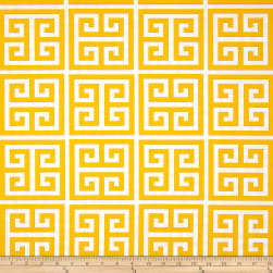 Premier Prints Indoor/Outdoor Towers Citrus Yellow Fabric