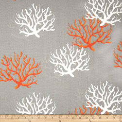 Premier Prints Indoor/Outdoor Isadella Coral Citrus Fabric