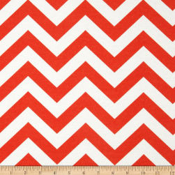 Premier Prints Indoor/Outdoor Zig Zag Salmon Fabric