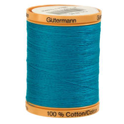 Gutermann Natural Cotton Thread 800m/875yds Aqua Marine