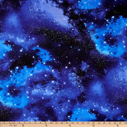 Timeless Treasures Space Galaxy Fabric