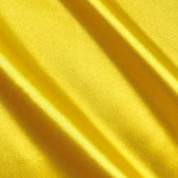 Bridal Satin Yellow Fabric