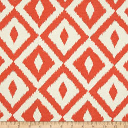 Terrasol Indoor/Outdoor Aztec Inspired Coral