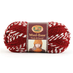 Lion Brand Wool-Ease Thick & Quick Yarn Crimson