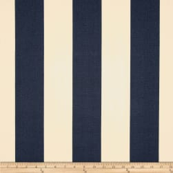 Premier Prints Indoor/Outdoor Vertical Stripe Deep Blue Fabric