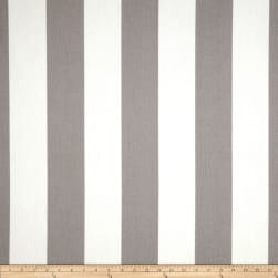 Premier Prints Indoor/Outdoor Vertical Stripe Grey Fabric