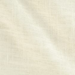 Acetex Sunrise Linen Blend White Fabric