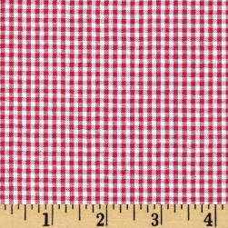 "Imperial 60"" Seersucker Gingham Red"