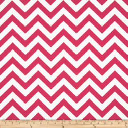 Premier Prints Zig Zag Candy Pink Fabric