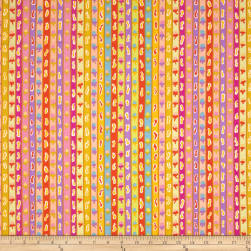Kaffe Fassett Spring 2013 Collection Ribbon Stripe Yellow