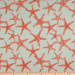 Premier Prints Sea Friends Slub Salmon