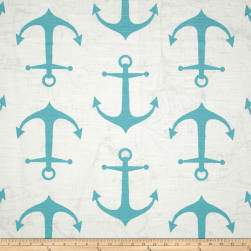 Premier Prints Anchor Slub Coastal Blue