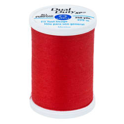 Coats & Clark Dual Duty XP 250 YD Red Geranium