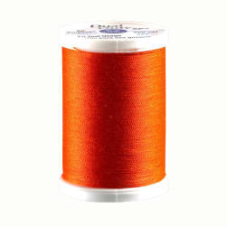 Dark Orange Coats /& Clark 0353733 Dual Duty Plus Hand Quilting Thread 325 Yds.Dark