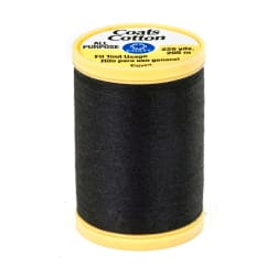 Coats & Clark General Purpose Cotton 225 yd. Black