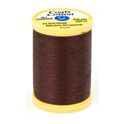 Coats & Clark General Purpose Cotton 225 yd. Chona Brown