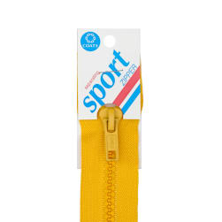 "Coats & Clark Sport Separating Zipper 20"" Spark Gold"