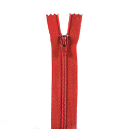 "Coats & Clark Poly All Purpose Zipper 4"" Atom Red"