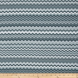 A.E. Nathan Chevron Grey/Charcoal/White Fabric