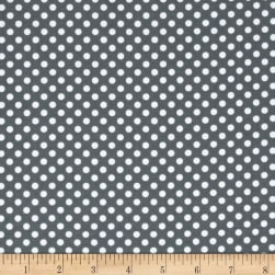 Spot On II Mini Dots Grey/White Fabric