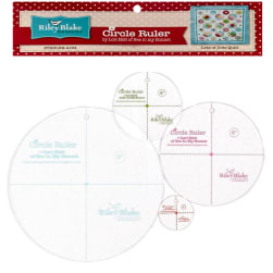 "Lori Holt Circle Ruler Kit 9"", 6"", 4"", 2"""