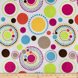 Minky Luna Multi Color Fabric
