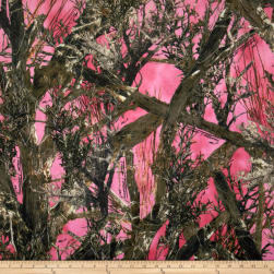 Minky True Timber Pink Fabric
