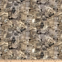 Tim Holtz Foundations Travel Taupe